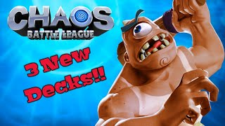Chaos Battle League - Season Reset, Tuning Changes, and 3 New Decks!!!