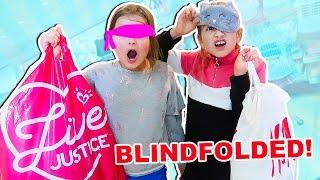 BLINDFOLDED SHOPPING CHALLENGE!! | JKrew