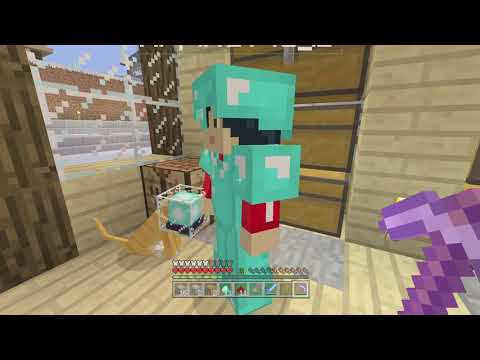 Minecraft Xbox one Survival: Lets Play Episode 182 - She is Fighting The Wither for The First Time!