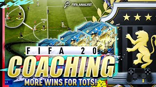 FIFA 20 COACHING | HOW TO GET MORE WINS FOR TOTS | FUT CHAMPS TIPS | HOW TO GET BETTER AT FIFA