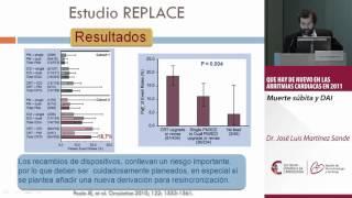 Muerte súbita y DAI. Dr. Jose Luis Martinez Sande