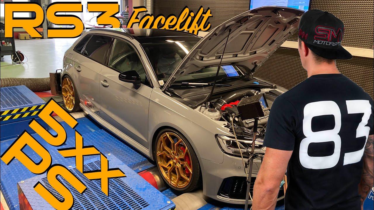 Audi RS3 Facelift, OPF raus für mehr Sound und Leistung?