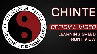Cuong Nhu Chinte - Official Kata - Learning Speed - Front View