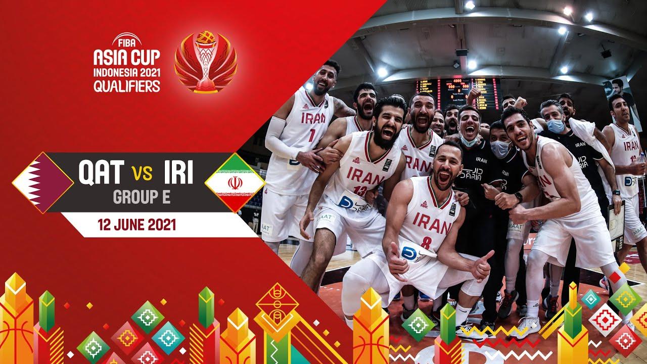 Qatar v Iran | Full Game - Asia Cup 2021 Qualifiers