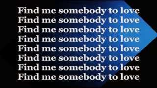 SOMEBODY TO LOVE (Lyrics) - George Michael & QUEEN