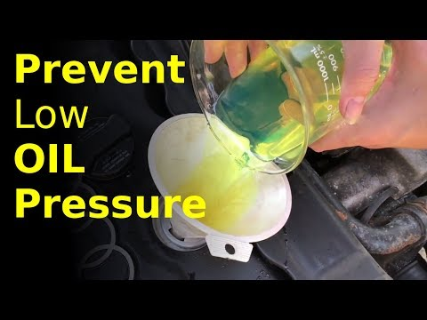 BEST way to remove engine sludge (prevent low pressure)