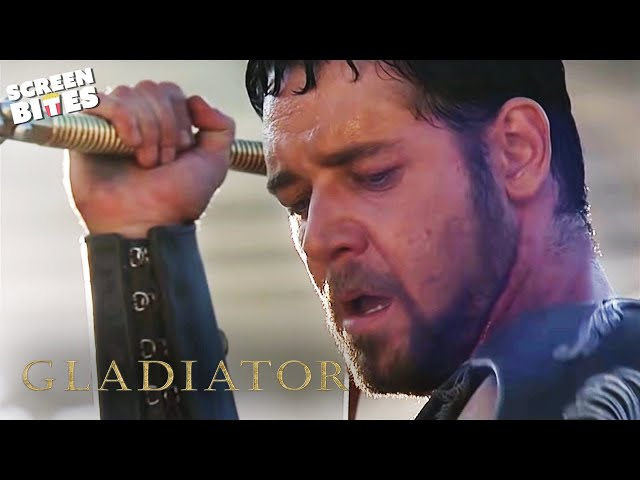 Gladiator | The Battle with A Retired Gladiator (ft Russell Crowe and Joaquin Phoenix) #1