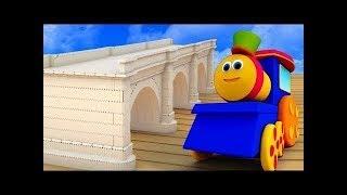 London Bridge Is Falling Down | Nursery Rhymes Kids tv | bob the train rhymes | rhyme for