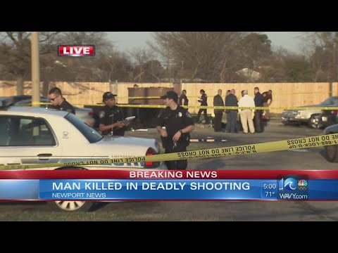 Deadly shooting on Lassiter Dr. in Newport News