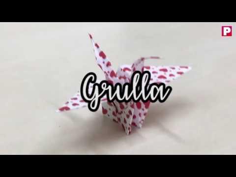 Grullas En Origami Para Decorar En Estas Fiestas