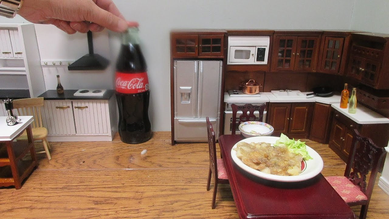 kitchen miniature pre cut granite countertops mini food cooking japanese わが家のお台所 リーメント