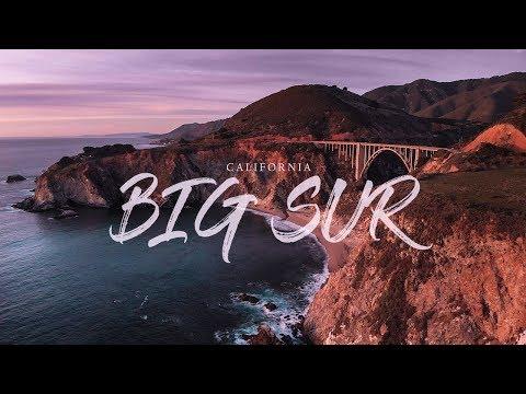 Intense Big Sur Sunset In 4K