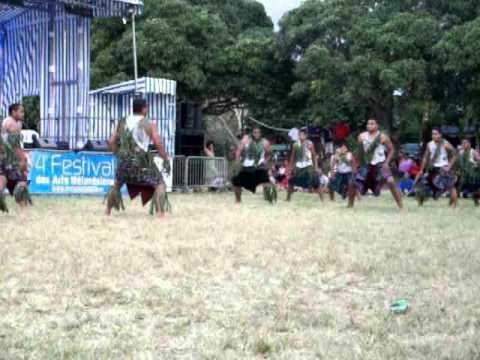 Wallisian Dance - La foa, New Caledonia