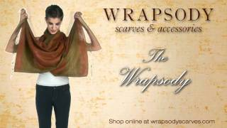 Wrapsody Scarves Tying Techniques