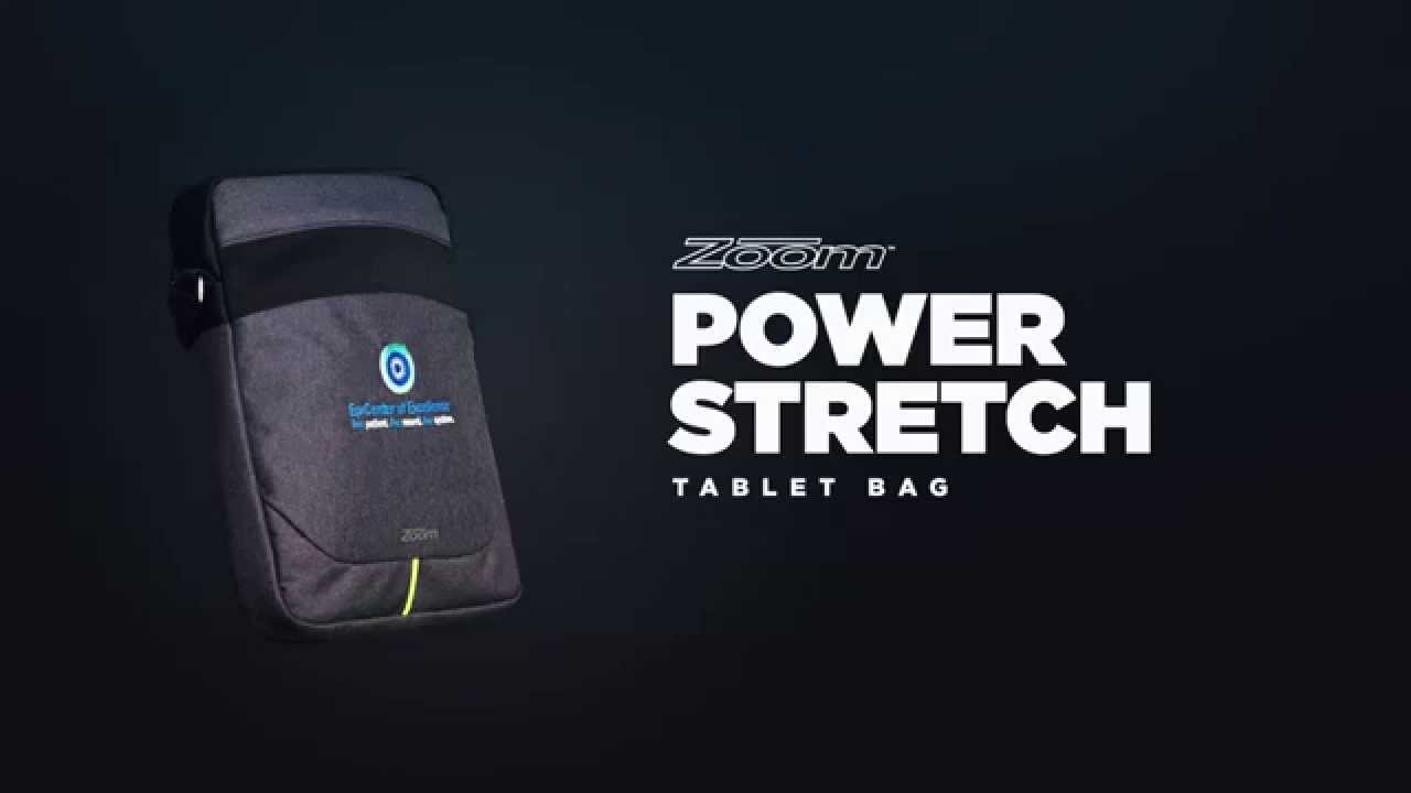 Zoom® Power Stretch Tablet Bag (0022-53) - YouTube bd0c8b8edfd4e