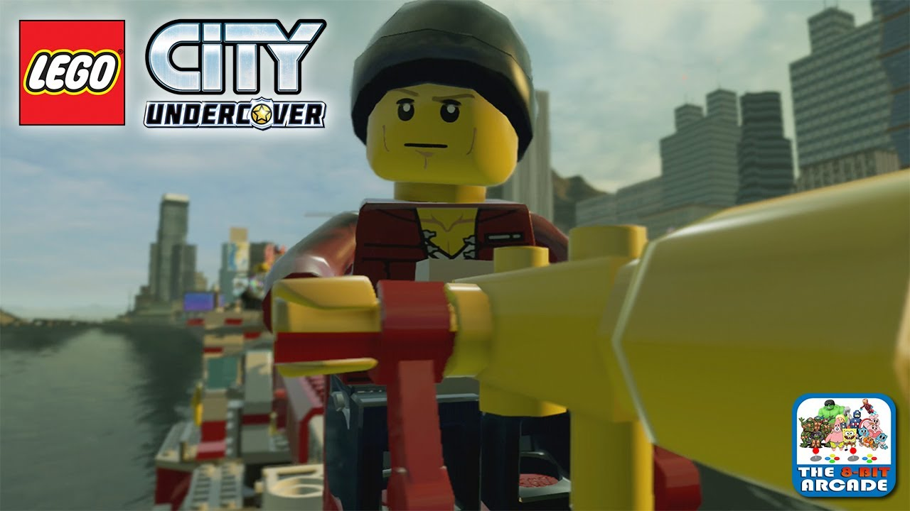 Lego City Undercover Taking The Boathouse Key From The Fire Chief