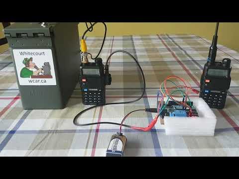 Baofeng Uv5r Arduino Fox Hunt Tx