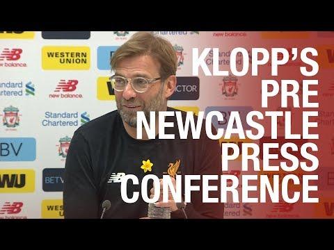 Jürgen Klopp's pre-Newcastle United press conference