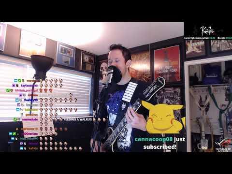 Matthew Kiichi Heafy || Down from the Sky live on Twitch
