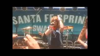 Unchained All Female Van Halen Tribute performing Hot For Teacher