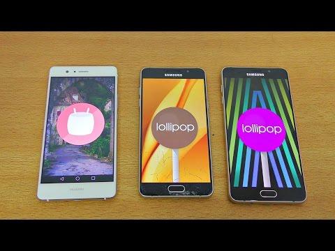 Huawei P9 Lite vs Galaxy A5 & A7 2016 Review & Camera Test! (4K)