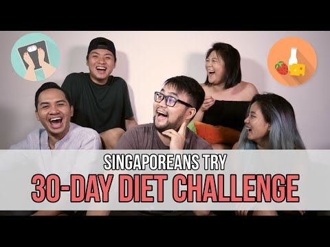Singaporeans Try: 30-Day Diet Challenge | EP 69