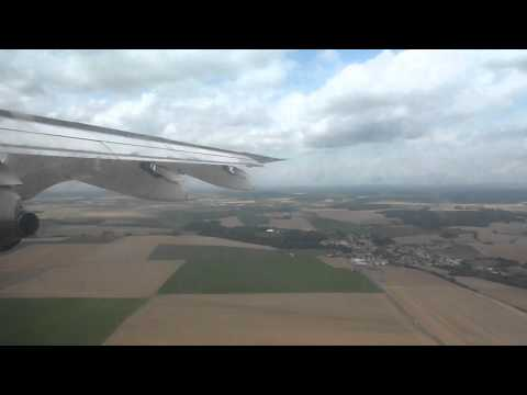 CITYJET By AIRFRANCE Avro RJ 85 Newcastle To Paris CDG Full Flight.