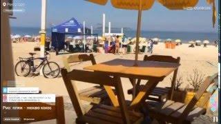 Бразилия | Рио де Жанейро. Пляж - нюхаю кокос 22-04-2016(, 2016-04-23T02:53:41.000Z)
