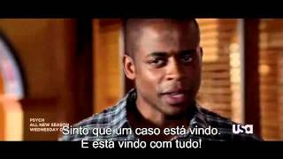 Psych Season 6 - Action Trailer Legendado PT-BR