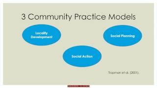 Community Practice Models