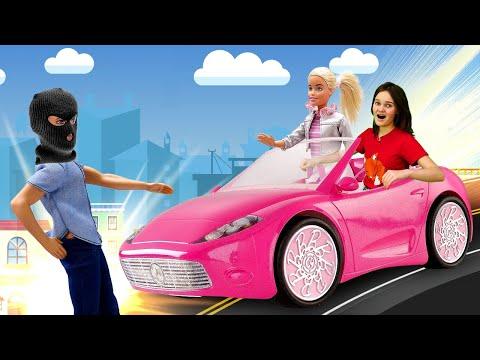 Видео игры онлайн - У куклы Барби забрали машину!!! – Новые игры для девочек в  видео шоу.