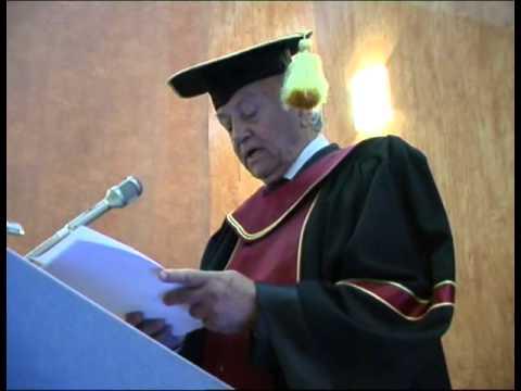 Decernarea titlului de Doctor Honoris Causa domnului profesor George Vithoulkas
