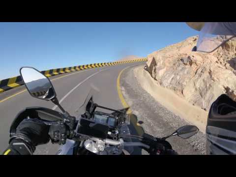Yamaha Super Tenere Jebel Yibir mountain up and down ride 2016