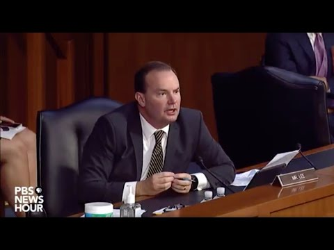 WATCH: Sen. Mike Lee questions witnesses in Amy Coney Barrett Supreme Court confirmation hearing.
