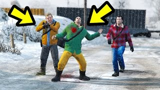 WHAT HAPPENS IF YOU SAVE BRAD? (GTA 5)