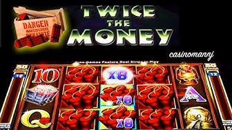 Twice the Money Slot - NEW GAME! - Slot Machine Bonus