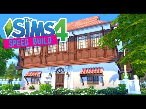 The Sims 4 -Speed Build- Filipino Ancestral House - No CC
