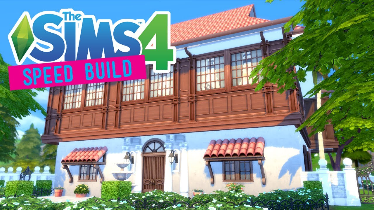 The sims 4 speed build filipino ancestral house no cc for Sims 4 balcony