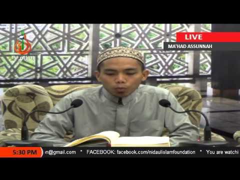 Kissa Sin Rasul Saw 2 Sheikh Jomar Naing Tausug