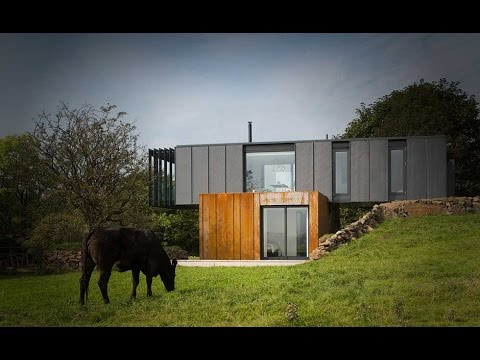 Shipping container homes under 150k youtube for Build a house for under 150k
