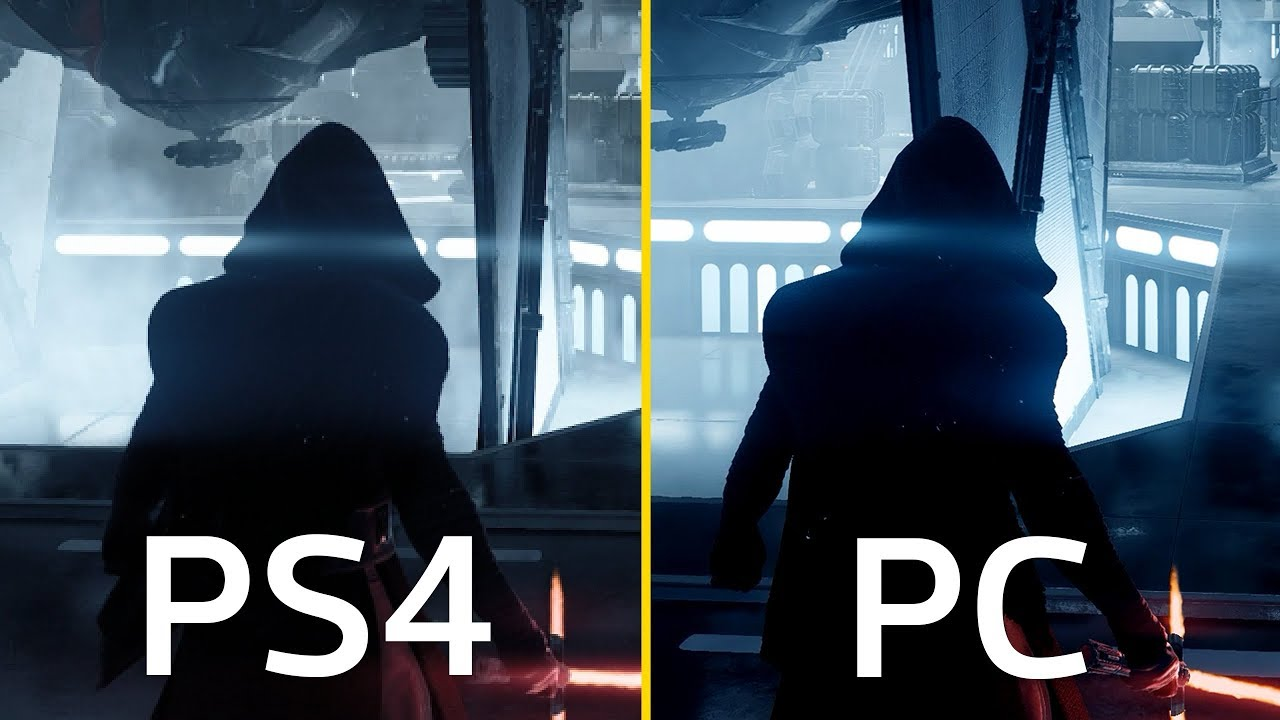 battlefront ii ps4 pro vs pc side by side comparison. Black Bedroom Furniture Sets. Home Design Ideas