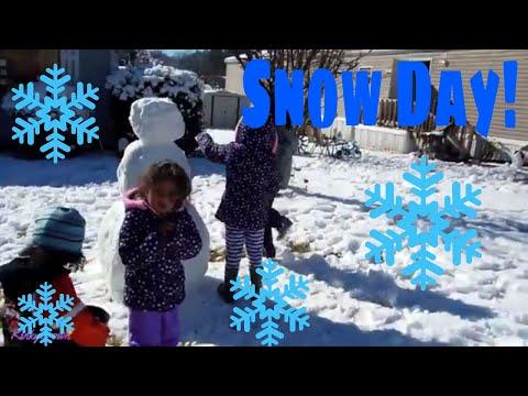 Snow Day in Georgia❄| interracial family| biracial family