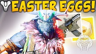 Destiny 2: EVIL VARIKS & NEW EASTER EGG! Secret Mission Enemies, Exotic Chests & Stealth Nerf
