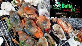 Buffet hải sản, tôm, cua sống rẻ nhất Sài Gòn (199k) - Buffet Ông Bình Dân