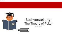 [Buchvorstellung] The Theory of Poker - David Sklansky