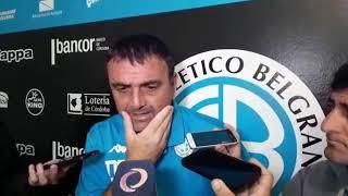 Diego Osella, DT de Belgrano en la previa de dos partidos fundamentales para El Pirata