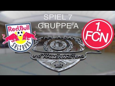 Spiel 07: Red Bull Salzburg - 1. FC Nürnberg 1:2 / U12 Hallenmasters TuS Traunreut 2016