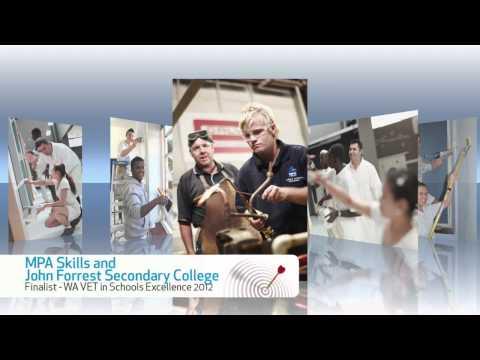 VET in Schools Excellence Award 2012 finalists