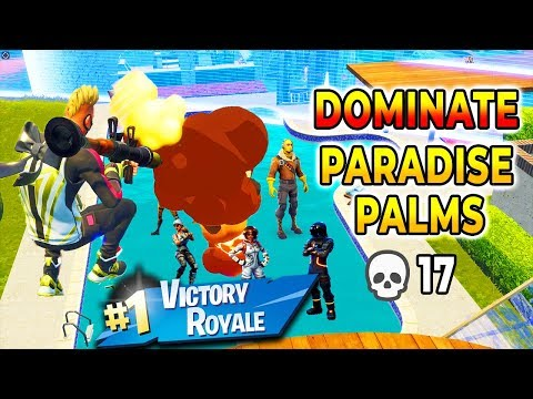 2 Easy Steps To DESTROY EVERYONE at PARADISE PALMS (Fortnite How To Win Tips)