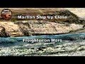Martian Ship Up Close - Freighter on Mars - ArtAlienTV (R)